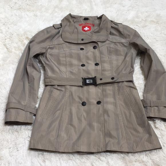 näher an Trennschuhe Vereinigte Staaten Wellensteyn Raja trench coat